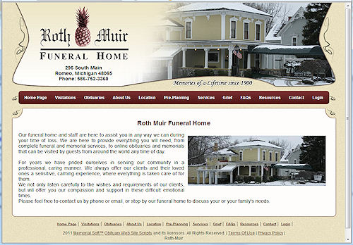 Roth Muir Funeral Home