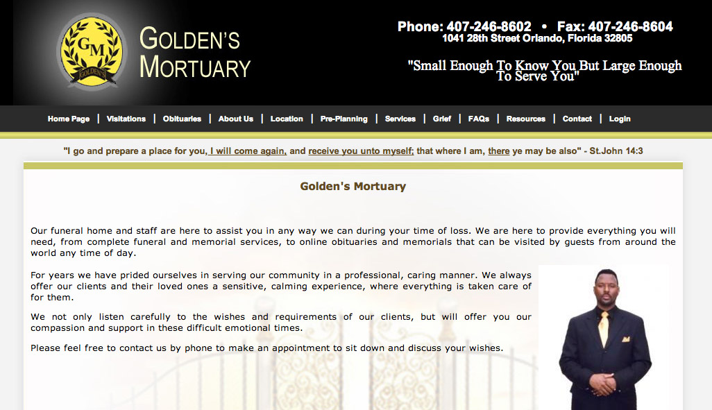Goldens Mortuary