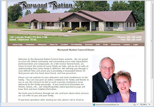 Norwood Nation Funeral Home
